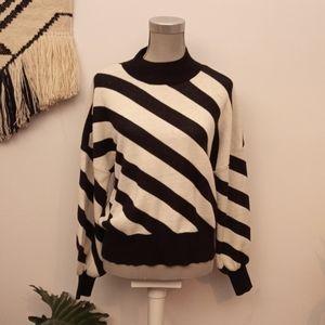 Vero Moda striped sweater size Large
